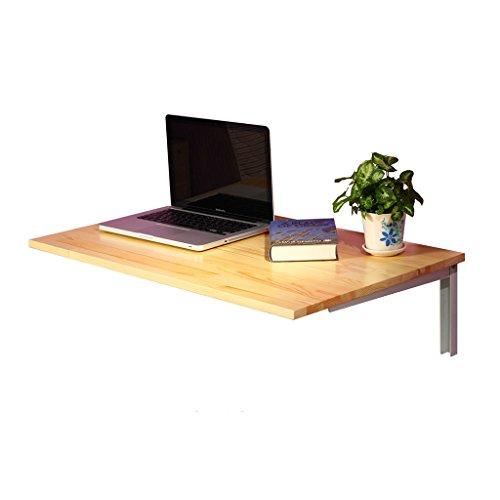 Lzz Wand-faltender Schreibtisch-Studien-Schreibtisch-Wand-faltender Computer-Schreibtisch-Schreibtisch-Küche Mikrowellen-Regal-Regale Größe: 80 * 50cm -