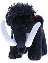 Mammut Toy – Mammut – Plástico de peluche, negro, S - Höhe 11cm
