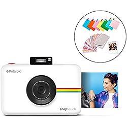 Polaroid Snap Touch 2.0 - Appareil Photo Numérique de 13 Mp, Bluetooth, Écran Tactile LCD, Vidéo 1080P et Nouvelle Application, 5 x 7,6 cm, Blanc