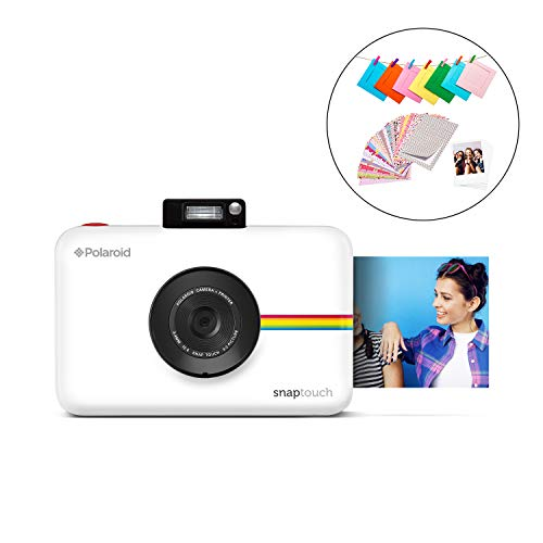 Polaroid SNAP Touch 2.0 13MP Tragbare Digitale Sofortbildkamera mit LCD Touchscreen Display, Zink Null Tinte Drucke 2x3, Weiß