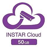 50GB Cloudspeicher für die INSTAR Cloud (5x 10GB für 1 Jahr / HTML5 Videowiedergabe / erweiterte Bewegungserkennung / Verwaltung von Alarmaufnahmen / Online NAS / NVR)