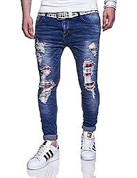 MT Styles Jeans Slim Fit pantalon homme RJ-120026