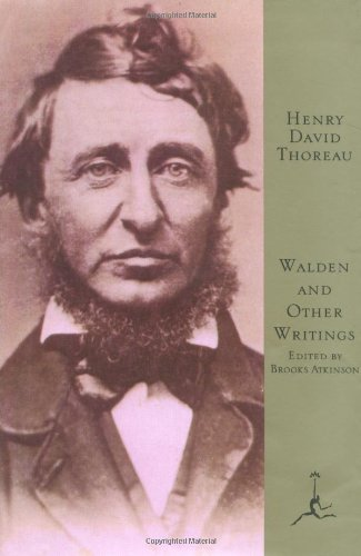 Walden and Other Writings (Modern Library of the World's Best Books)