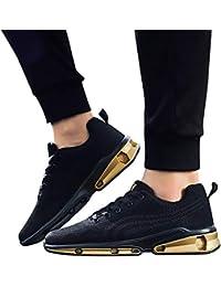Zapatos de hombre JiaMeng Hombre Zapatillas de Senderismo Deportivas Aire Libre y Deportes Montaña de Malla Zapatos Transpirables Zapatos para Correr de Estudiantes