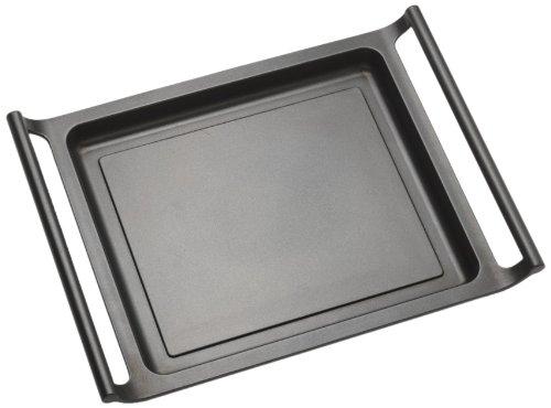 BRA Efficient - Plancha asador liso, 45 cm, aluminio fundido con antiadherente...