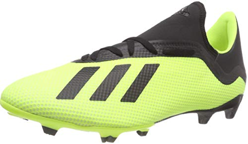 adidas X 18.3 Fg, Scarpe da Calcio Uomo, Giallo Syello/Cblack/Ftwwht, 43 1/3 EU