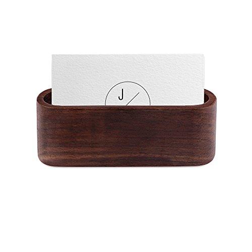 Visitenkartenhalter hölzerner Visitenkartekasten Visitenkarte-Ausstellungsstand-Schreibtisch-Aufbewahrungsbehälter