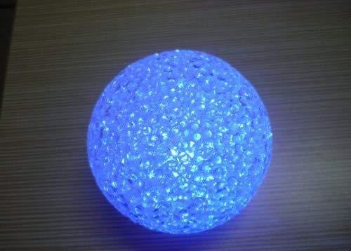 Großhandel 2 Schublade (Kristallkugel Bunt Led Night Lampe Großhandel Nachtmarkt Gradient-lampe 2 Durchmesser 12 cm)