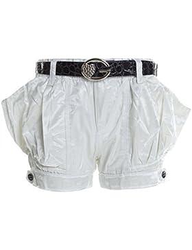 Kinder Mädchen Kurze Hose Bermuda Shorts Sommer Capri Pump Pants Jeans 20339