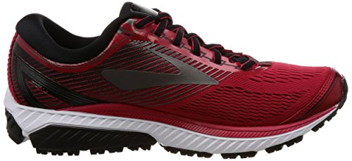 Brooks Ghost 10, Scarpe De Running Uomo Toreador / Noir / Charbon Métallique