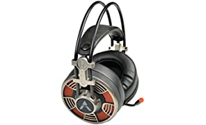 Adcom Vision 7.1 USB Noise Cancelling Super Gaming Headphone with Omnidirectional Mic, Cool LED, 50mm Drivers, 7ft Long Braided Cable and Volume Control Button (Black)