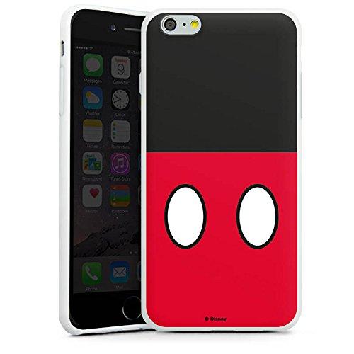 Apple iPhone X Silikon Hülle Case Schutzhülle Disney Mickey Mouse Hosen Geschenke Merchandise Silikon Case weiß