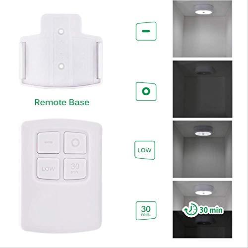 LED Nachtlicht Kit mit Fernbedienung Beleuchtung 3 Lampen und 1 RF-Fernbedienung -
