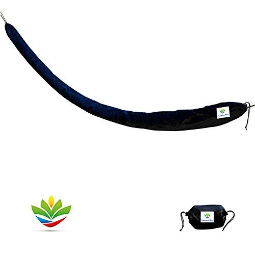 Hammock Bliss Sun Shield/Hammock Cover - Protect Your Hammock from Sun, Rain & Dirt - Long Size Fits Most Any Hammock Rain Protector
