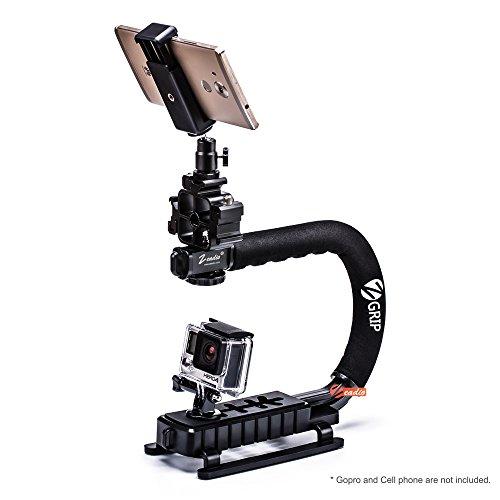 Zeadio sistema stabilizzatore portatile professionale per canon nikon sony panasonic pentax olympus dslr videocamera telecamera fotocamera
