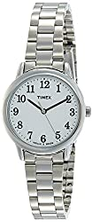 Timex Easy Reader Analog White Dial Womens Watch-TW2R23700