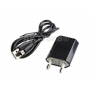 Original AKTrend® 2in1 SET USB Ladekabel + USB Slim Haus netzteil für Nintendo DSi / 3DS / 3DS XL / DSi / DSi XL / NDSi , Nintendo 3DS / 3DS XL / 3DSi / DSi / DSi XL - Ladekabel Datenkabel Ladegerät , Power Supply / Nezteil / Adapter Für Nintendo