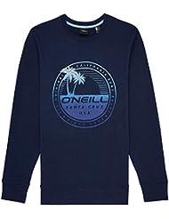 O'Neill LM Palm Island Crew Sudadera, Hombre, Ink Blue, L