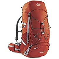 Lowe Alpine Cholatse II Men's Hiking Backpack – Tabasco/Amber, 82 x 37 x 34 cm 55 Litres FMP – TB