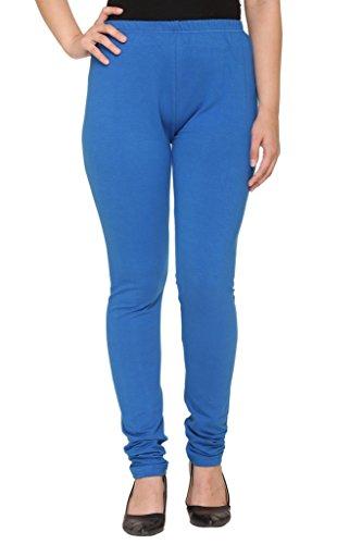 Colors & Blends - Women's Cotton-Lycra Winter Leggings/Churidars