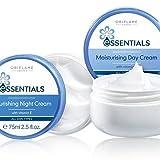 oriflame essential set (day cream + night cream)