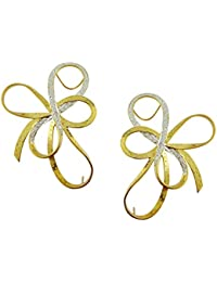 Aastha Jain Cuff Earring In Sterling Silver(18k plated) For Women