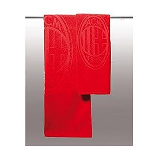 A.C. Milan Set Frottee Handtuch + Gästetuch, offizielles Produkt