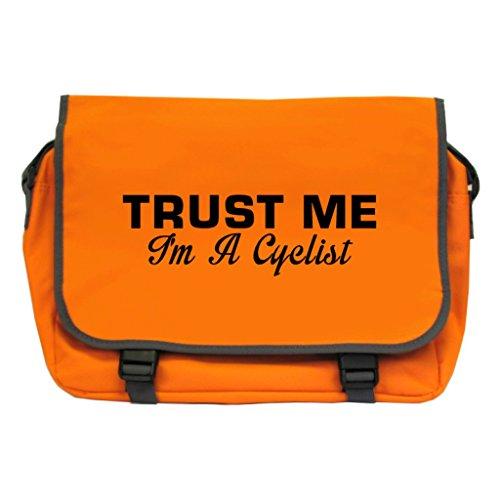 Bag Duffle Radfahren (Trust Me I 'm A Radfahrer Messenger Bag–Orange)