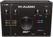 M-Audio AIR 192|4 — 2-In/2-Out USB Audio Interface with Recording Software from ProTools & Ableton Live, P