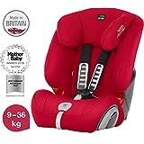 Britax Römer Kindersitz, 9 - 36 kg, EVOLVA 123 PLUS Autositz Gruppe 1/2/3, fire red