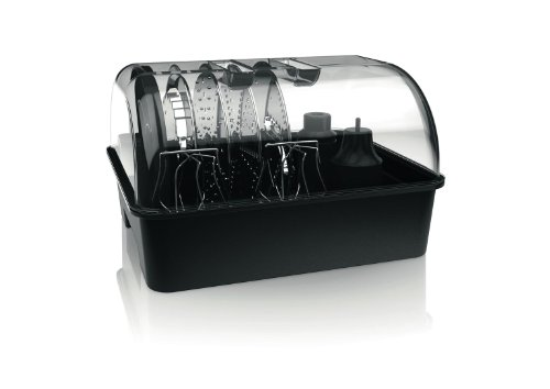 Philips HR7778/00 Küchenmaschine (1300 W, 30 Funktionen, Entsafter) schwarz/silber - 16