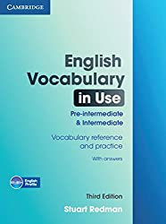 English Vocabulary in Use. Pre-Intermediate and Intermediate. Edition with answers