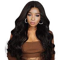 Largo Rizado Afro Gran Ola Parte Lateral Frente De Encaje Mullido En Capas Pelucas para Mujeres Negras