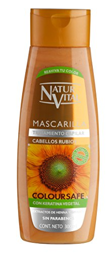 Natur Vital Mascarilla Color Cabellos Rubios – 300 ml