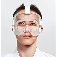 Karate cara cara escudo protector de nariz con mayor agarre acolchado por wesing