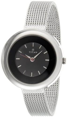 Titan Youth Analog Black Dial Women's Watch - NE2482SM02