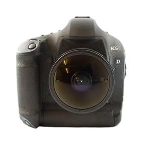 Samyang Objectif grand angle CS II UMC 1:3,5/8 mm pour appareil photo Canon EOS 1D, 5D MK II/III, 6D , EOS 7D, 20D, 30D, 40D, 50D, 60D, 300D, 350D, 400D, 450D, 500D, 550D, 600D, 650D, 1000D, 1100D