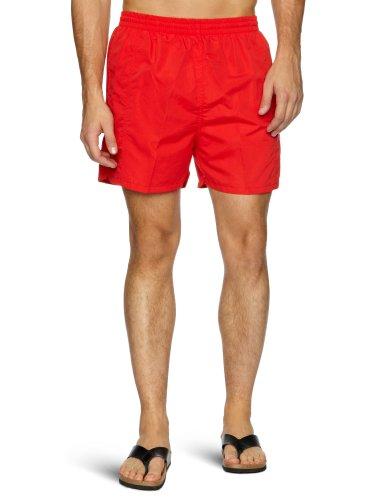 Maru Swimwear Solid Short Men's 40.64 cm Medium rot - rot - Tactel Kordelzug
