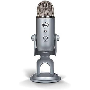 Blue Yeti USB Mikrofon - Silber