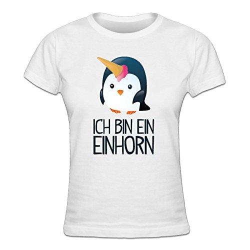 Ich bin ein Einhorn Frauen T-Shirt by Shirtcity