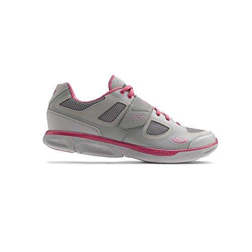 Giro whynd/fitness vélo 2014 chaussures de sport noir/bleu silver/rhodamine red
