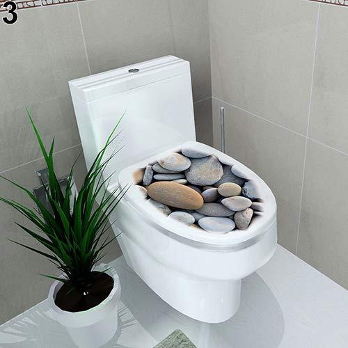 Oce180anYLV Cuarto baño DIY Inodoro Asiento Pared