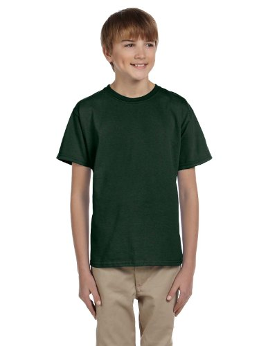 Jerzees -  Maglia a manica lunga  - Uomo Forest Green New