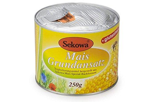Sekowa Mais-Grundansatz glutenfrei 250g Bio