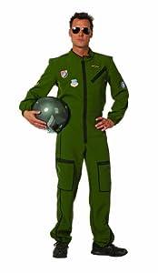 Stekarneval - Disfraz de piloto de jet para hombre, talla UK 44 (510954)