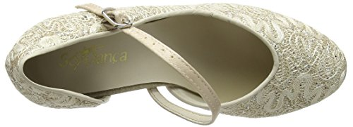 So Danca Bl504, Damen Standard & Latein, Gold (Gold Sparkle), 37/38 EU (4.5 UK)