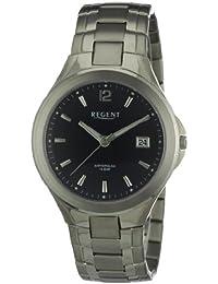 Regent Herren-Armbanduhr XL Analog Titan 11090262