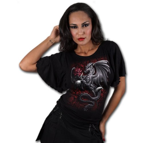 Spiral Direct - T-shirt -  Femme Noir - Noir