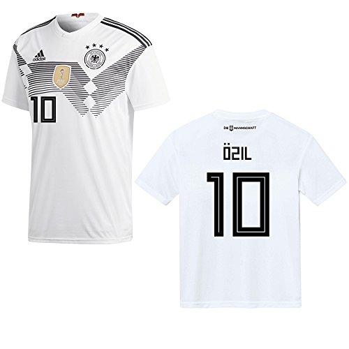 DFB DEUTSCHLAND Trikot Home Herren WM 2018 - ÖZIL 10, Größe:M