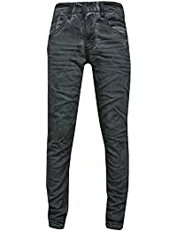 Blue Rebel - Garçons pantalons jeans brillant, gris
